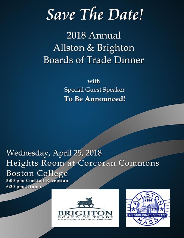 Allston Board of Trade annual dinner